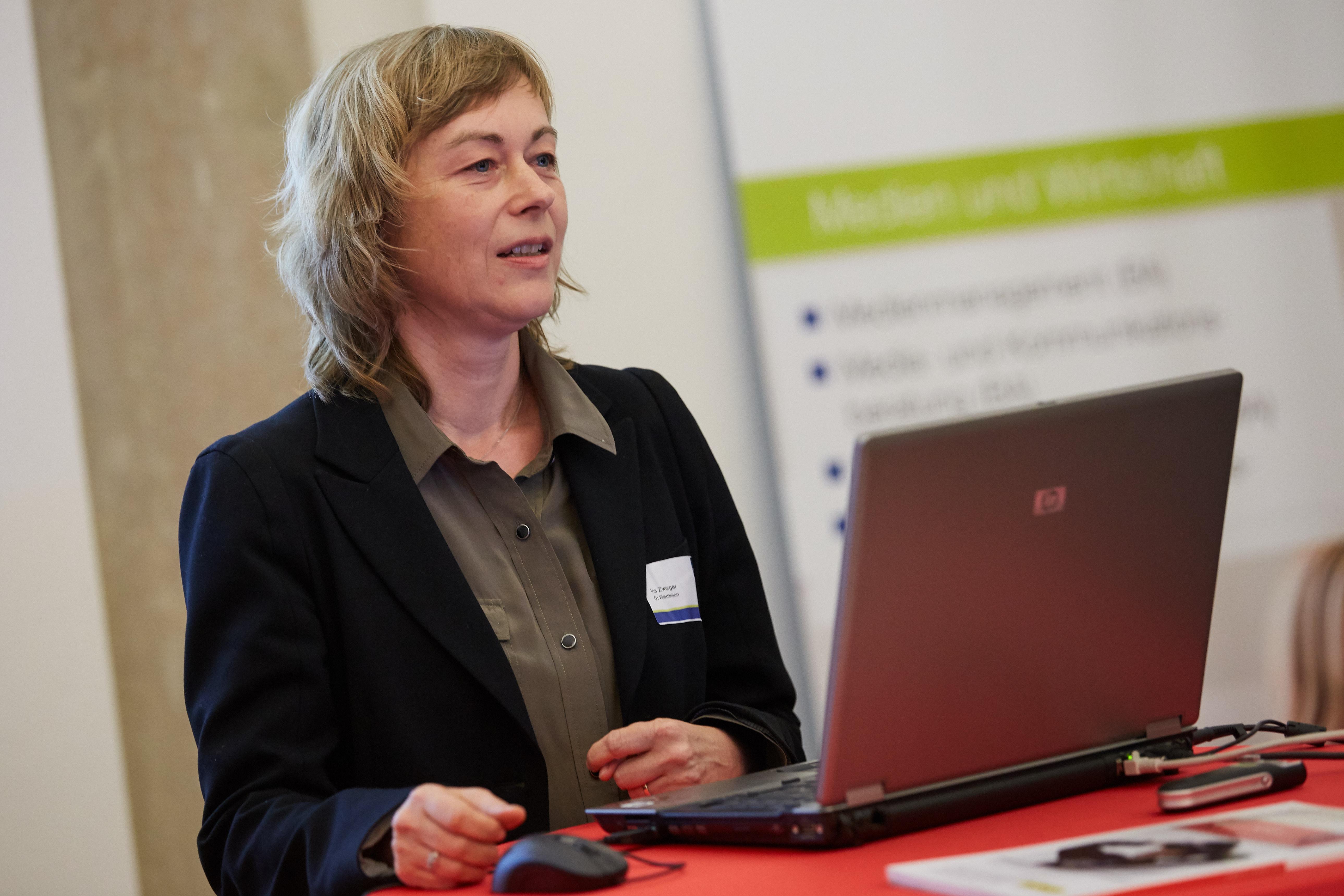 Ina Zwerger Symposium Wirtschafts- und Finanzkommunikation (Fotocredits: FH St. Pölten)