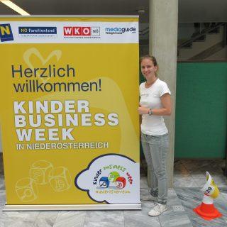 Tatjana Aubram bei der Kinder Business Week 2018