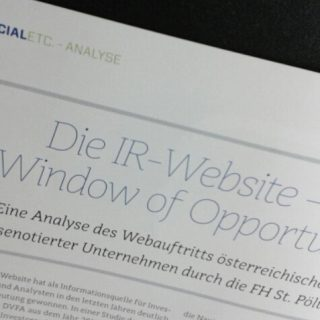 IR-Website-Analyse