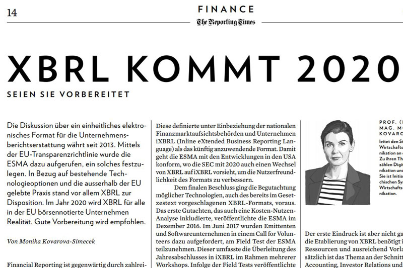 XBRL kommt (Copyright: Screenshot https://reporting-times.com/app/uploads/2019/09/CCR_Reporting_Times_15_CH_190919_14.pdf)