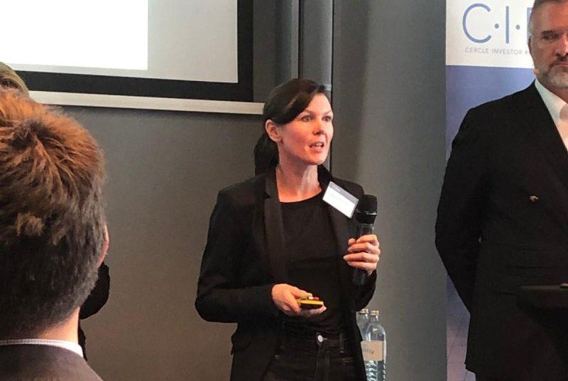 Kovarova-Simecek bei der CIRA-Jahreskonferenz 2019 (Fotocredits: FH St. Pölten/Eva Milgotin)