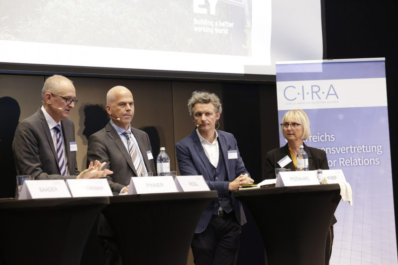CIRA Jahreskonferenz 2019 Panel 8 (Fotocredits: CIRA / APA-Fotoservice / Nadine Bargad)